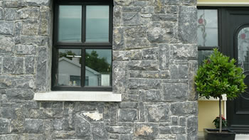 Dark Limestone. Cladding
