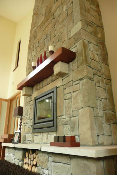 Sandstone - Fireplace